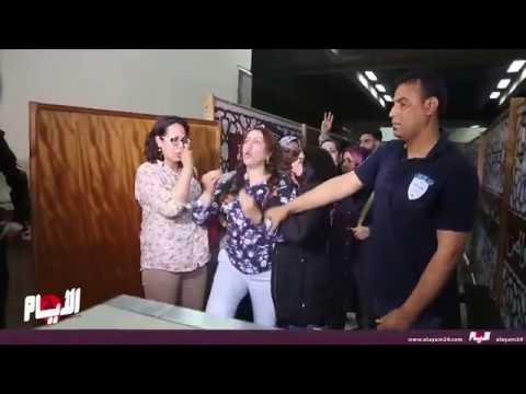 احتجاجات ساخنة وأخت حميد المهداوي تصرخ بشكل هستيري بعد النطق بالحكم