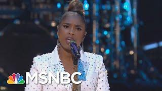 Jennifer Hudson Performs 'Hallelujah'   MSNBC
