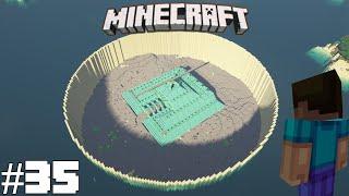 Draining Ocean Monument (Part 3/3) - Minecraft Survival Island Timelapse S6E35