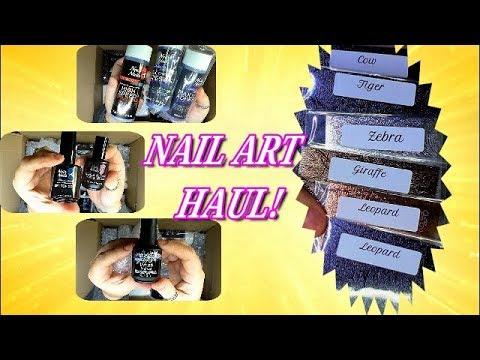 NAIO NAILS & CAT SASS ~ NAIL ART HAUL | ABSOLUTE NAILS