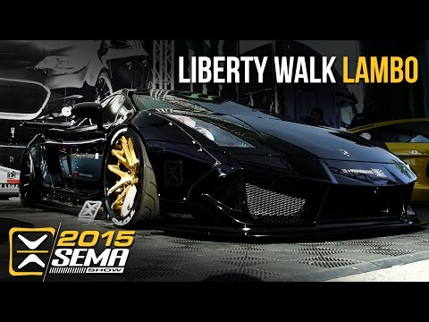 SEMA 2015 | 1st Liberty Walk Lamborghini Gallardo | Optimus Performance