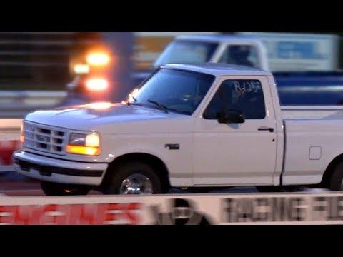 Ford Lightning Drag Racing