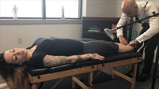 Perfect FIRST TIME Adjustment ~ LOUD Full Body Chiropractic Adjustment w/ Microphone ~ ASMR Relax ~