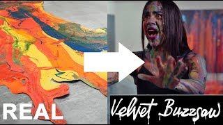 The REAL Art in Velvet Buzzsaw