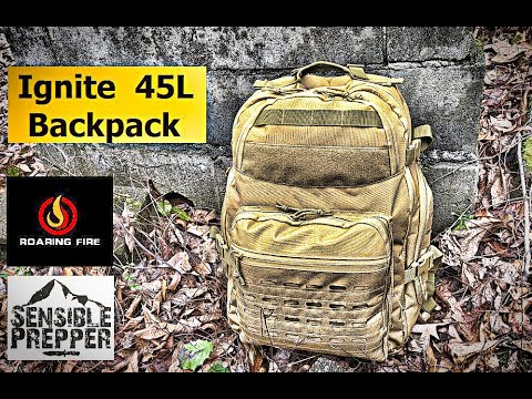 Ignite 45L Backpack Review   Roaring Fire Gear