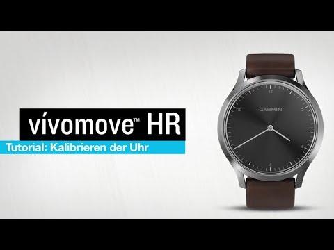 vívomove™ HR Tutorial - Kalibrieren der Uhr