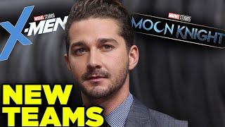 Marvel New Team Lineup! Shia LaBeouf Casting Twist & Moon Knight Theory!