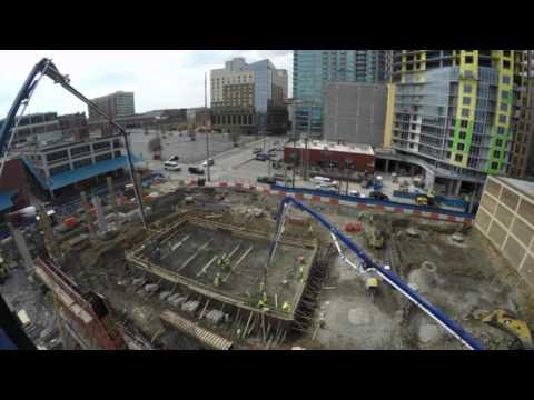 222 2nd Avenue Elevator Mass Concrete Pour Time Lapse Video