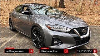 2019 Nissan Maxima SR – The 4-Door Sports Car?