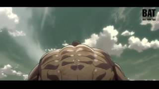 Attack on titan: Eren vs The Armored Titan full fight