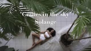 Solange - Cranes in the sky LYRICS