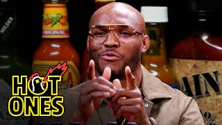 Kamaru Usman Goes to the Mat Against Spicy Wings   Hot Ones
