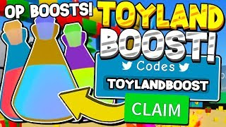 SECRET TOY BOOST CODES IN UNBOXING SIMULATOR! Roblox *30 SX COINS!?*