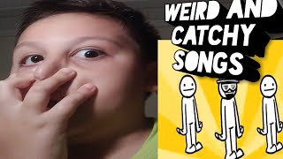 Weird and catchy songs