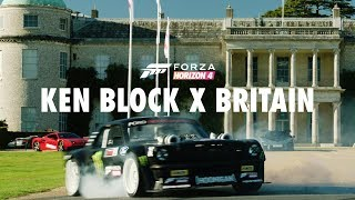 Ken Block tears up Goodwood with Forza Horizon. 4