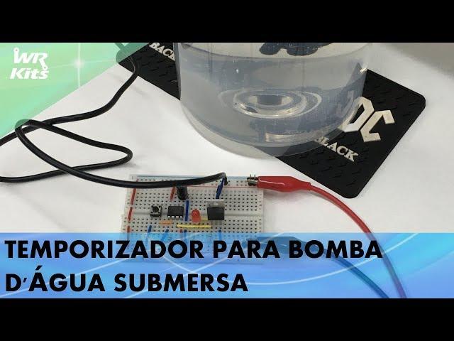 TEMPORIZADOR PARA BOMBA D'ÁGUA SUBMERSA