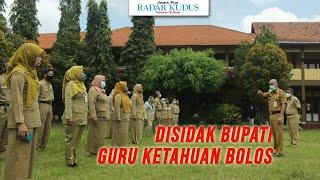 Disidak Bupati, 24 Guru SMPN 2 Jepara Bolos
