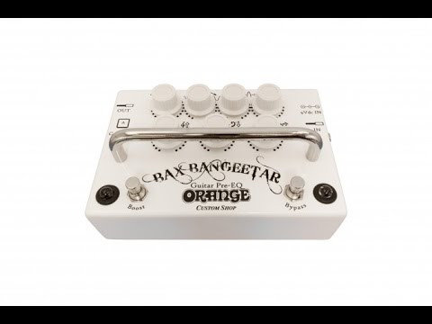 Orange Bax Bangeetar (White)