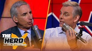 XFL Commissioner Oliver Luck joins Colin to talk the league's return & how it's changed | THE HERD