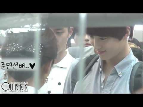 120727 EXO-K 인천공항 (Incheon Airport) 출국 1080p
