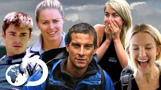 Celebrities in Danger 2.0 | Bear Grylls Best Of