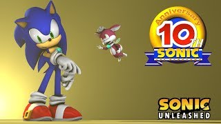 HAPPY 10 year Anniversary Sonic Unleashed