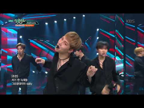 뮤직뱅크 Music Bank - Jealousy - 몬스타엑스 (Jealousy - MONSTA X).20180406