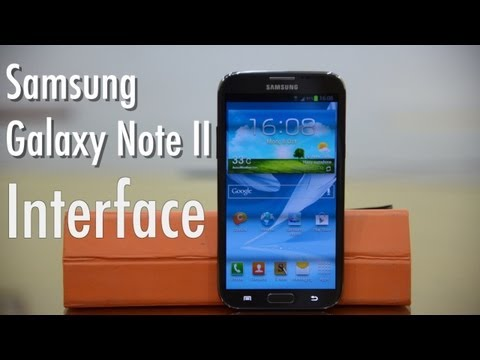 Samsung Galaxy Note II   Interface