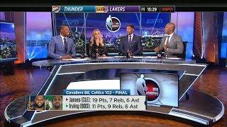 Celtics vs Cavaliers Postgame Talk | January 3, 2018
