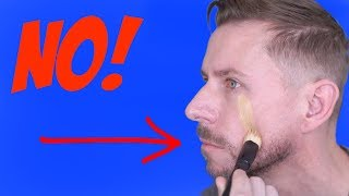HOW TO REALLY USE A FOUNDATION BRUSH - ITS NOT HOW YOU THINK!