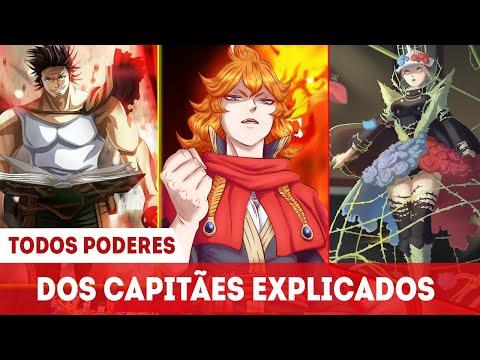 EXPLICANDO TODOS PODERES DOS CAPITÃES DOS CAVALEIROS MÁGICOS DE BLACK CLOVER