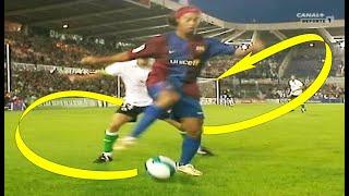 Ronaldinho The Most Smart & Creative Plays