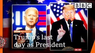 Covid-19: Biden says travel bans will stay despite Trump order 🔴 @BBC News live - BBC