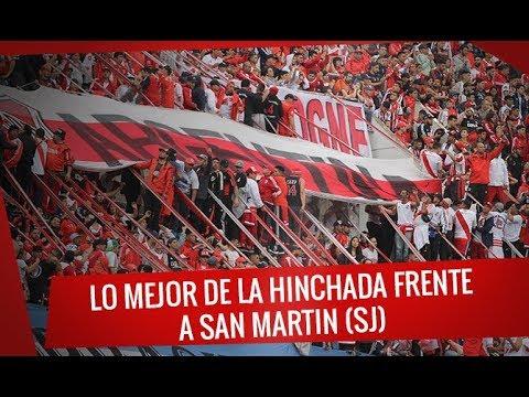 Lo mejor de la hinchada contra San Martín (SJ) - Superliga 2017/18