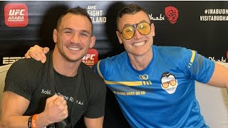 Michael Chandler Loves Power of His Hands, Sizing Up Conor McGregor