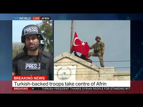 YPG flees Syria's Afrin