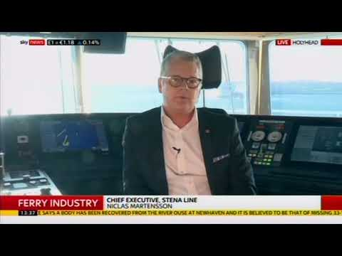 Niclas Martensson on Sky News Ian King Live