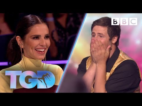 Superfan James dances for his hero Cheryl! - The Greatest Dancer | Auditions