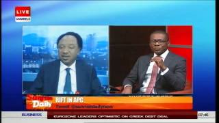Senator Shehu Sani Explains The Rift In APC (PT2) 24/06/15