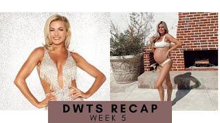 DWTS WEEK 5 RECAP!! *36 WEEK PREGNANCY UPDATE!!*
