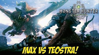 Monster Hunter World! Max vs Teostra! - YoVideogames
