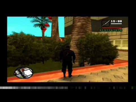 Localizacion de todas las armas (GTA San Andreas)(Parte 1)