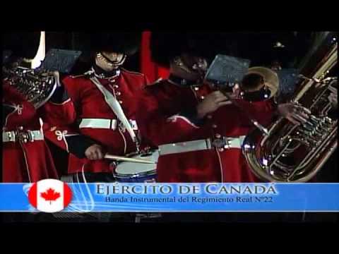 Primer Tattoo Militar Chile 2007 Parte IV. Canadá.