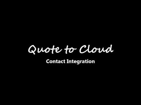 Xact Quote to Cloud - Overview