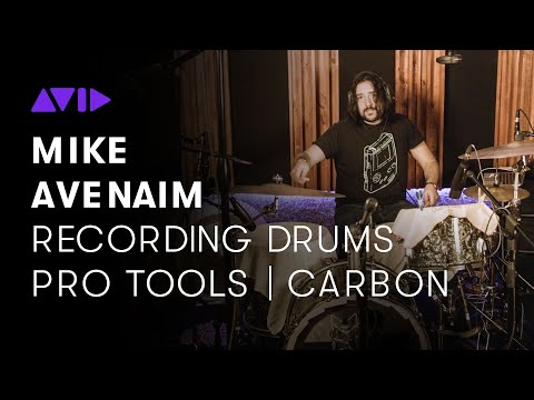 Recording Drums with Pro Tools   Carbon