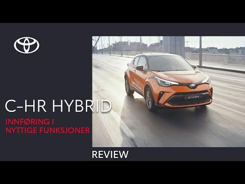 Toyota C-HR Hybrid 2020 - Innføring i nyttige funksjoner - Full review