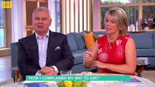Eamonn Holmes is having none of your shit on ITV's This Morning