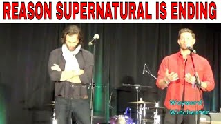 Jensen & Jared Reveal The Reason Why Supernatural Is Ending VegasCon 2019