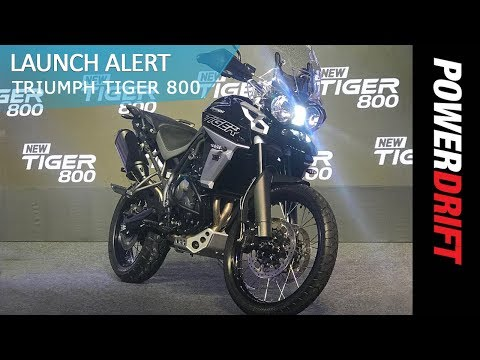 2018 Triumph Tiger 800 : All variants in India explained : PowerDrift