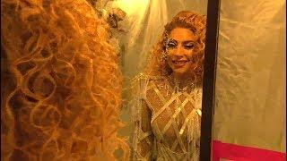 Lady Gaga - American Music Awards 2017 (Backstage)